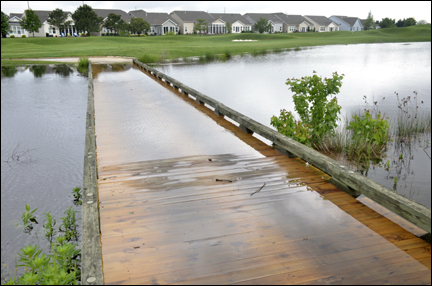 bridge flooding